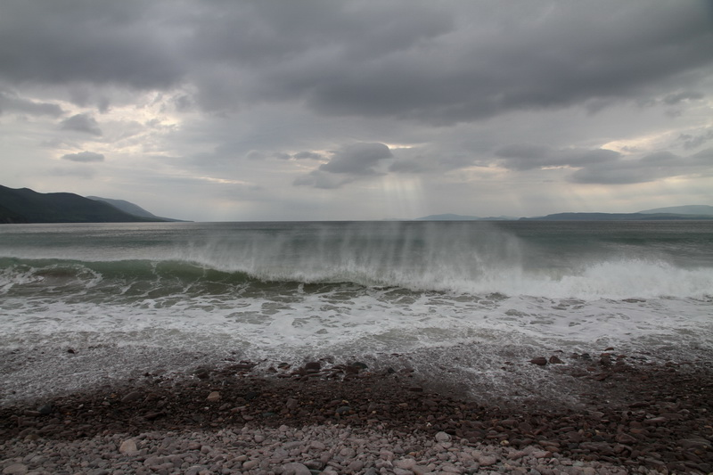 Stormy waves @ Rossbeigh Beach