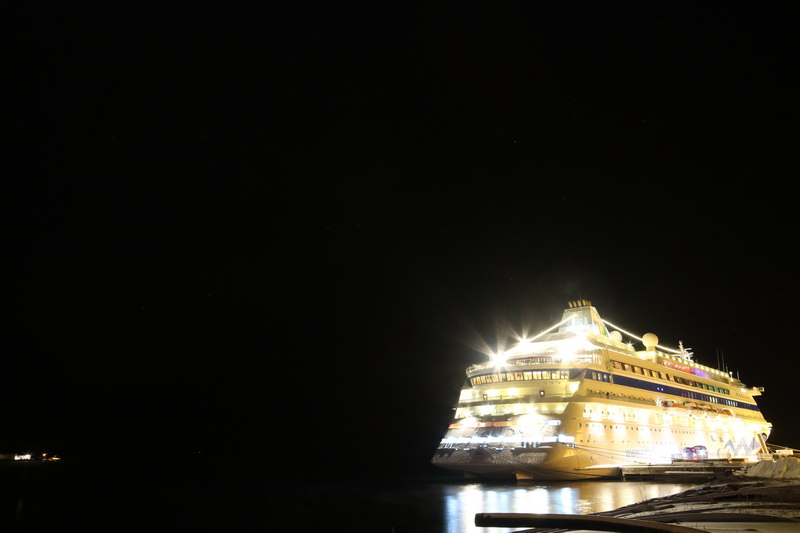 AIDA Cara @ Night